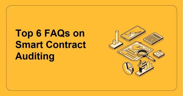 Blockchain Smart Contract Auditing