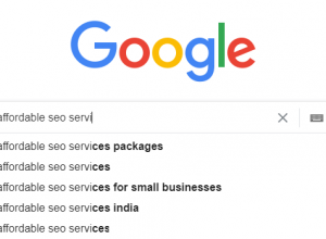 Affordable SEO Services for Small Business – 2021